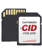 CID SD and Micro SD Cards for car GPS navigation